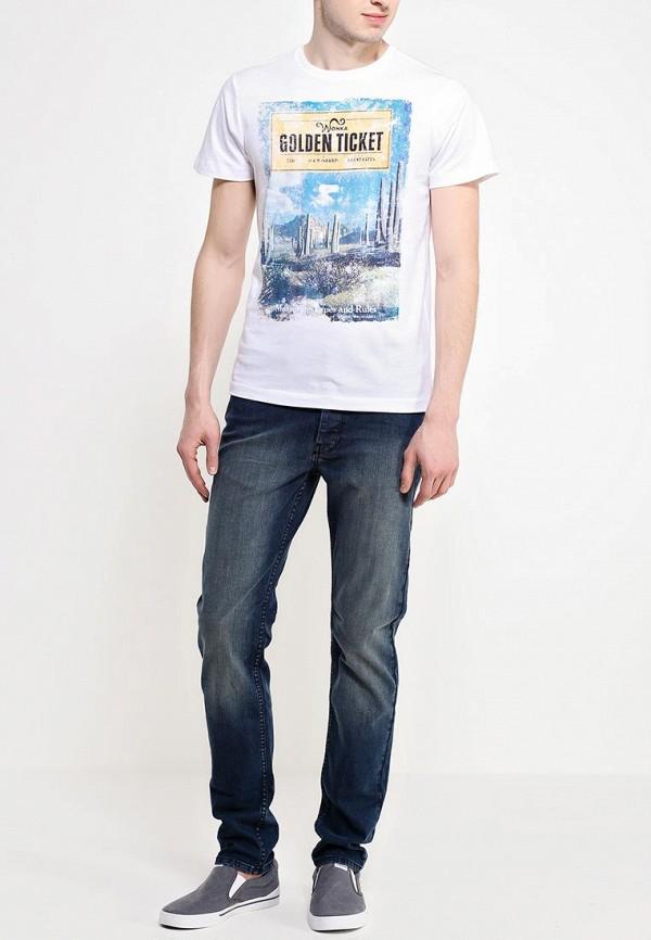 Зауженные джинсы Burton Menswear London 12S29GBLU: изображение 3
