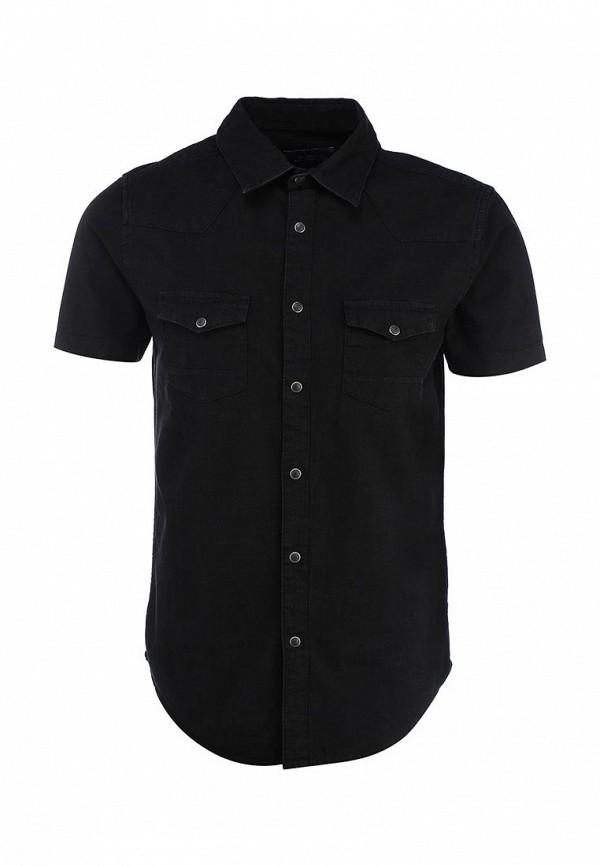Рубашка с коротким рукавом Burton Menswear London 22A06GBLK: изображение 2