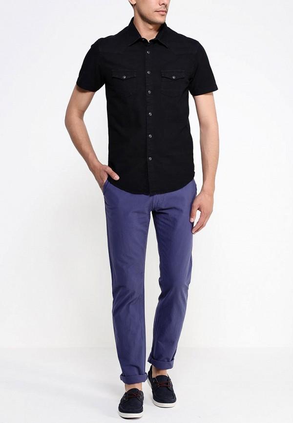 Рубашка с коротким рукавом Burton Menswear London 22A06GBLK: изображение 4