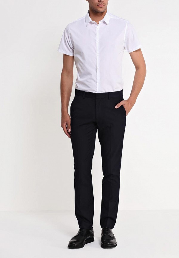 Рубашка с коротким рукавом Burton Menswear London 19B04GWHT: изображение 3