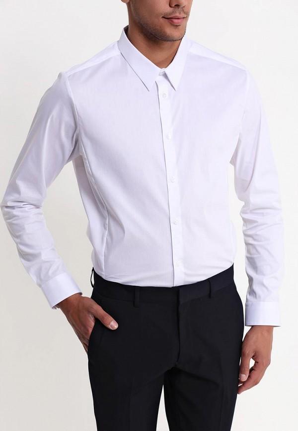 Рубашка с длинным рукавом Burton Menswear London 19B21EWHT: изображение 2