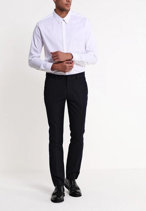 Рубашка с длинным рукавом Burton Menswear London 19B21EWHT: изображение 3
