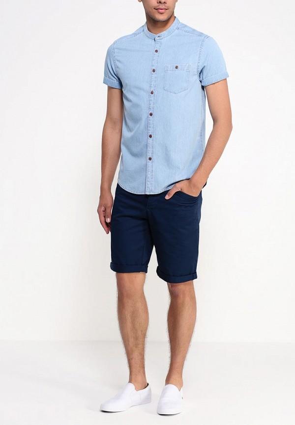 Рубашка с коротким рукавом Burton Menswear London 22A03GBLU: изображение 3
