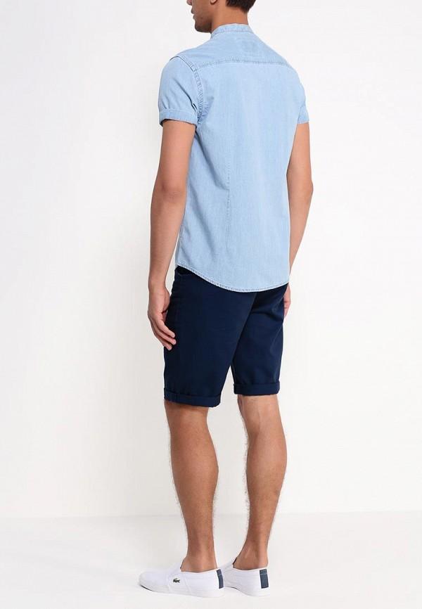 Рубашка с коротким рукавом Burton Menswear London 22A03GBLU: изображение 4