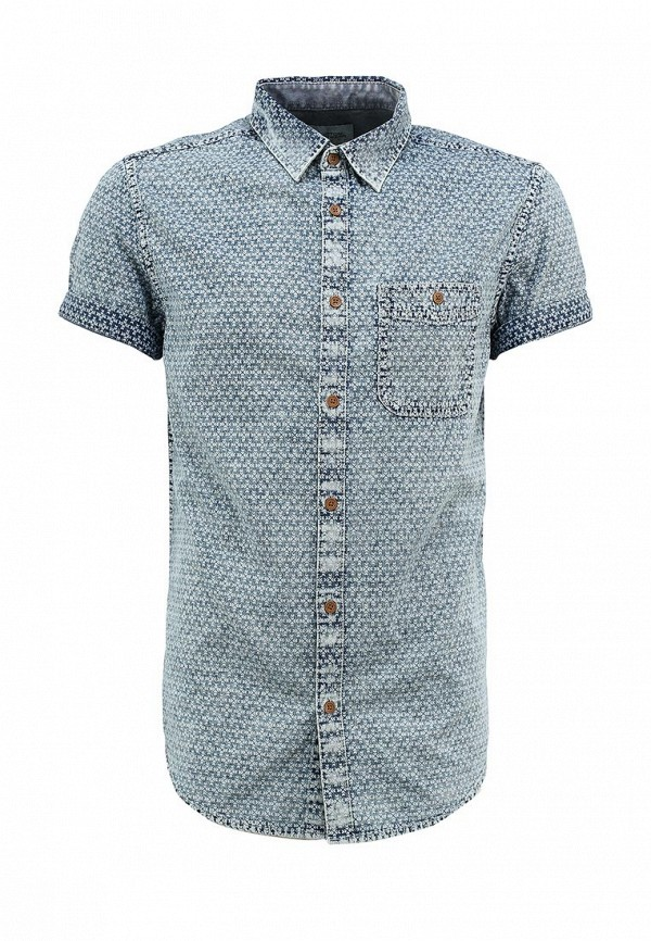 Рубашка с коротким рукавом Burton Menswear London 22A05GWHT: изображение 1