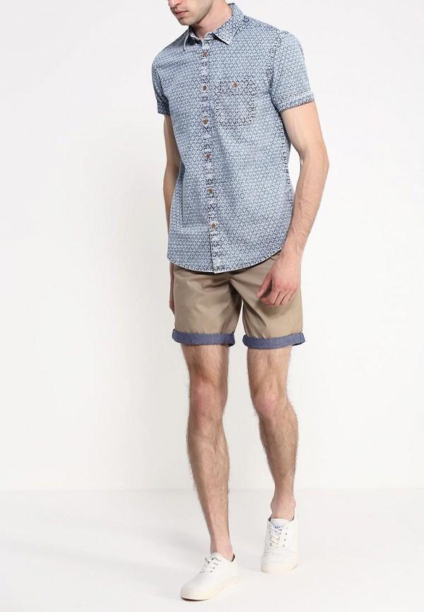 Рубашка с коротким рукавом Burton Menswear London 22A05GWHT: изображение 3