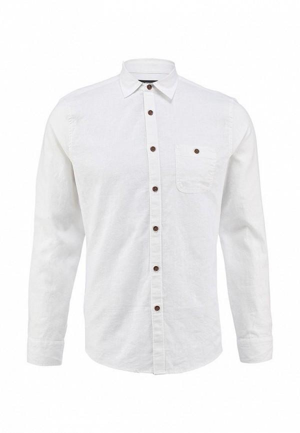 Рубашка с длинным рукавом Burton Menswear London 22C08FWHT: изображение 1