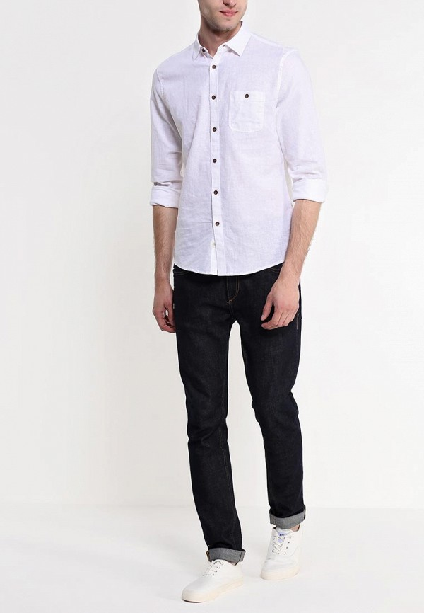 Рубашка с длинным рукавом Burton Menswear London 22C08FWHT: изображение 3