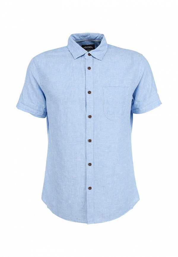 Рубашка с коротким рукавом Burton Menswear London 22D15GBLU: изображение 1
