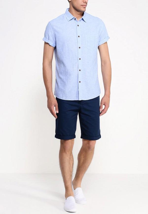 Рубашка с коротким рукавом Burton Menswear London 22D15GBLU: изображение 3