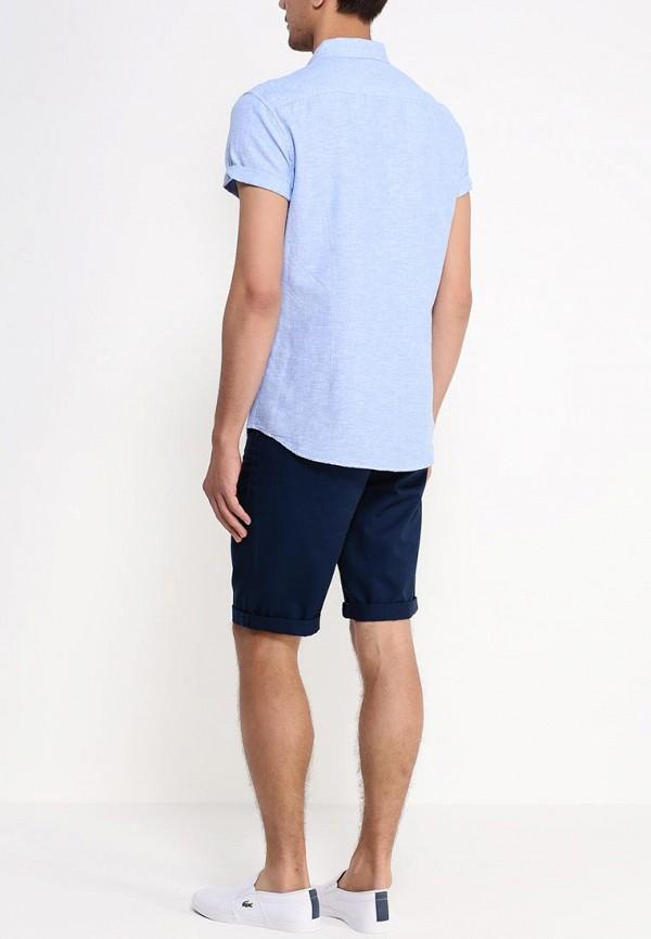 Рубашка с коротким рукавом Burton Menswear London 22D15GBLU: изображение 4
