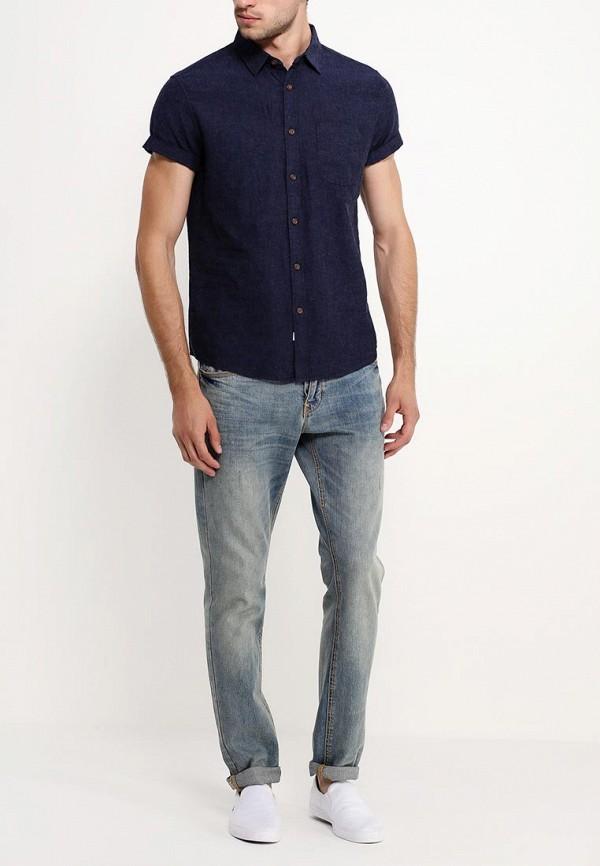 Рубашка с коротким рукавом Burton Menswear London 22D15GNVY: изображение 5