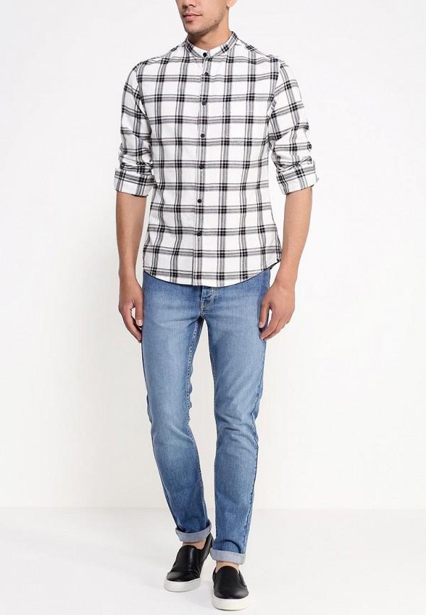 Рубашка с длинным рукавом Burton Menswear London 22S02GBLK: изображение 3