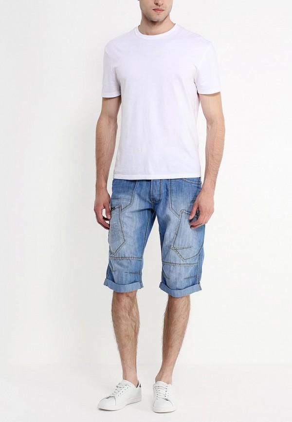 Мужские повседневные шорты Burton Menswear London 88D03GBLU: изображение 3