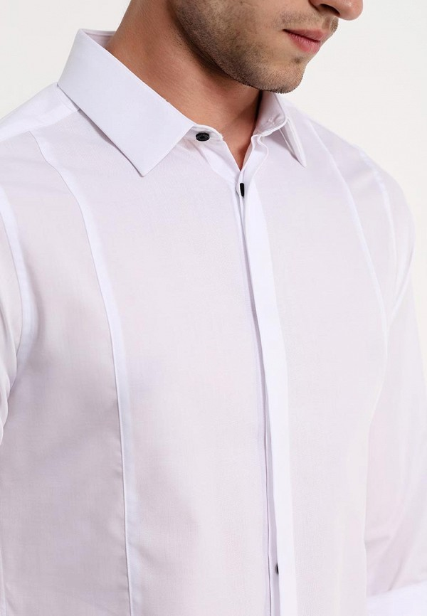 Рубашка с длинным рукавом Burton Menswear London 19F06GWHT: изображение 3