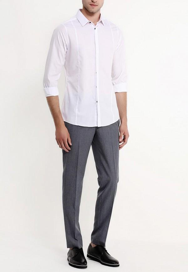 Рубашка с длинным рукавом Burton Menswear London 19F06GWHT: изображение 4