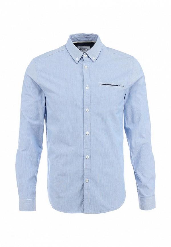 Рубашка с длинным рукавом Burton Menswear London 22C04GBLU: изображение 1