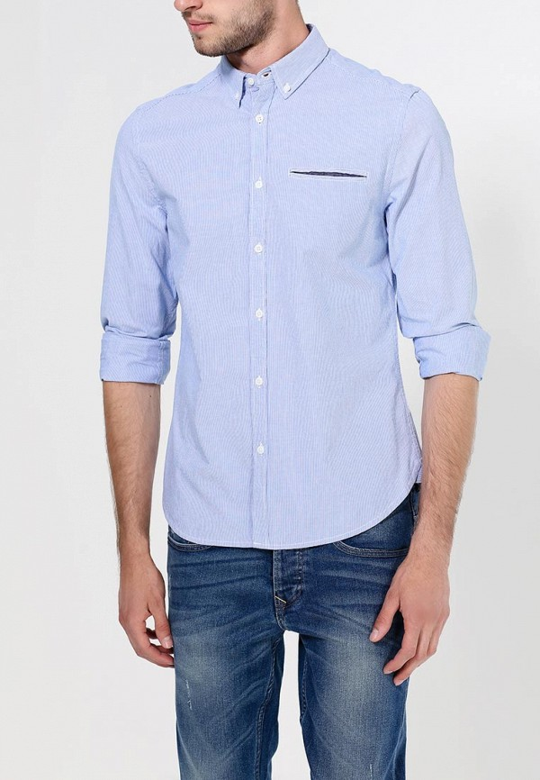 Рубашка с длинным рукавом Burton Menswear London 22C04GBLU: изображение 2