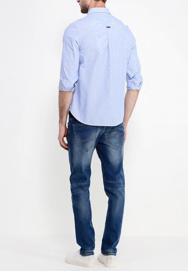 Рубашка с длинным рукавом Burton Menswear London 22C04GBLU: изображение 4