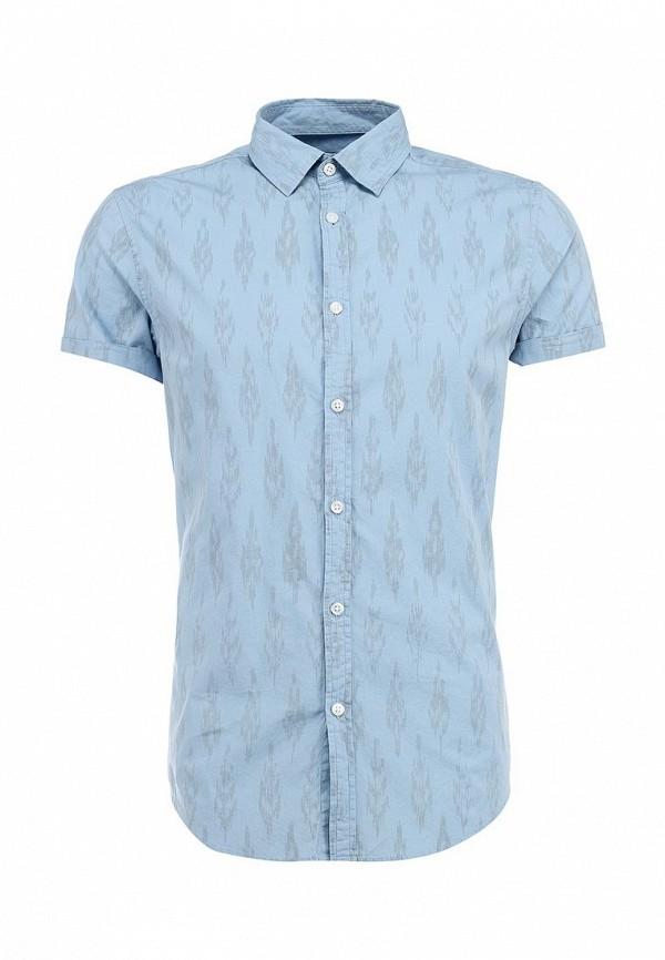 Рубашка с коротким рукавом Burton Menswear London 22C08GBLU: изображение 1