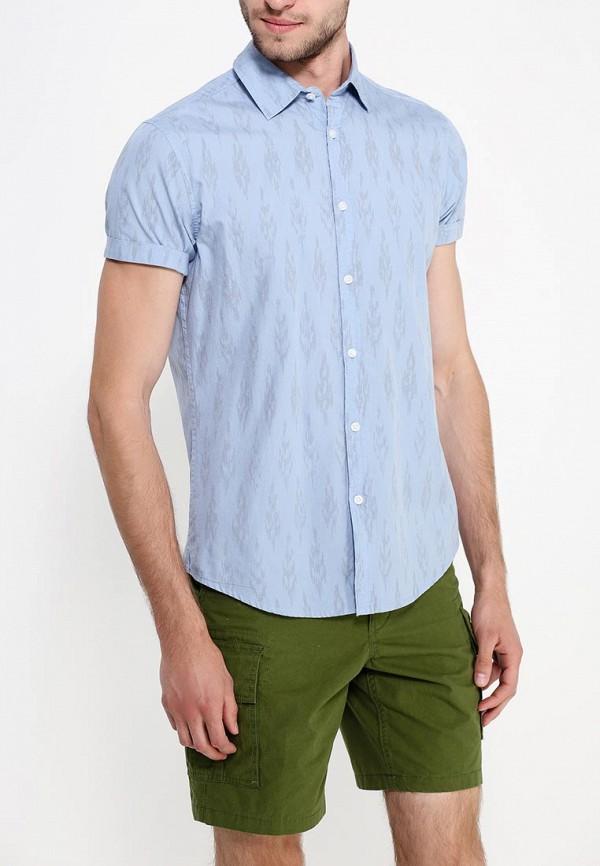 Рубашка с коротким рукавом Burton Menswear London 22C08GBLU: изображение 2