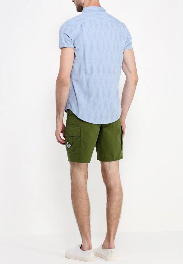 Рубашка с коротким рукавом Burton Menswear London 22C08GBLU: изображение 4