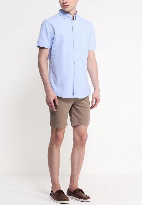 Рубашка с коротким рукавом Burton Menswear London 22D07GBLU: изображение 3