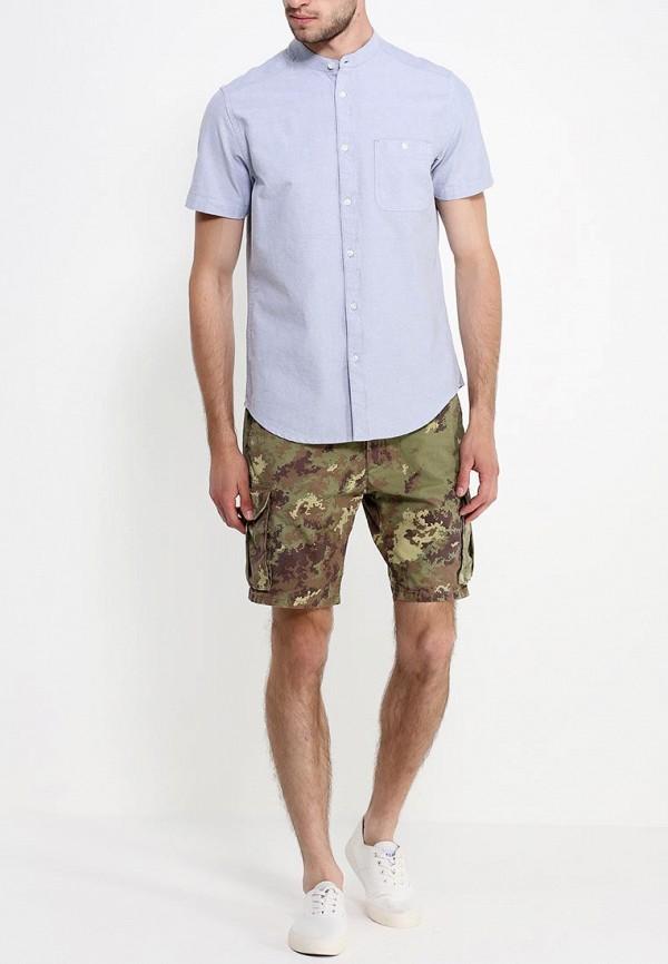 Рубашка с коротким рукавом Burton Menswear London 22D11GGRY: изображение 3