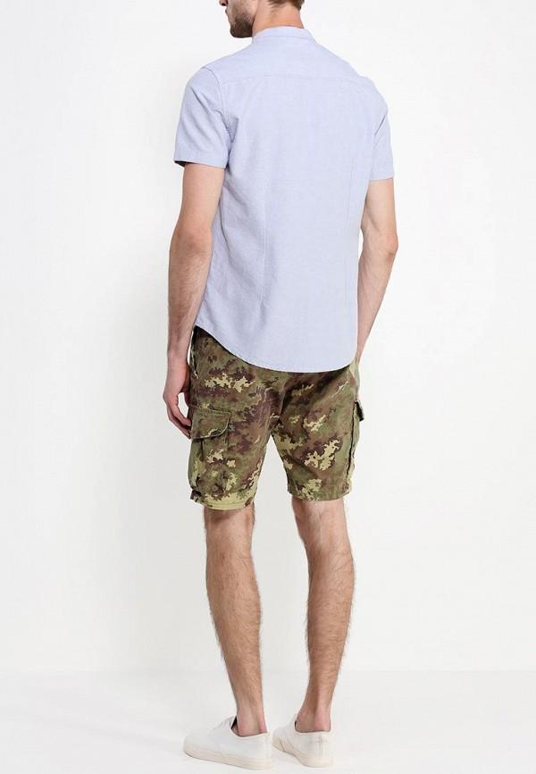 Рубашка с коротким рукавом Burton Menswear London 22D11GGRY: изображение 4