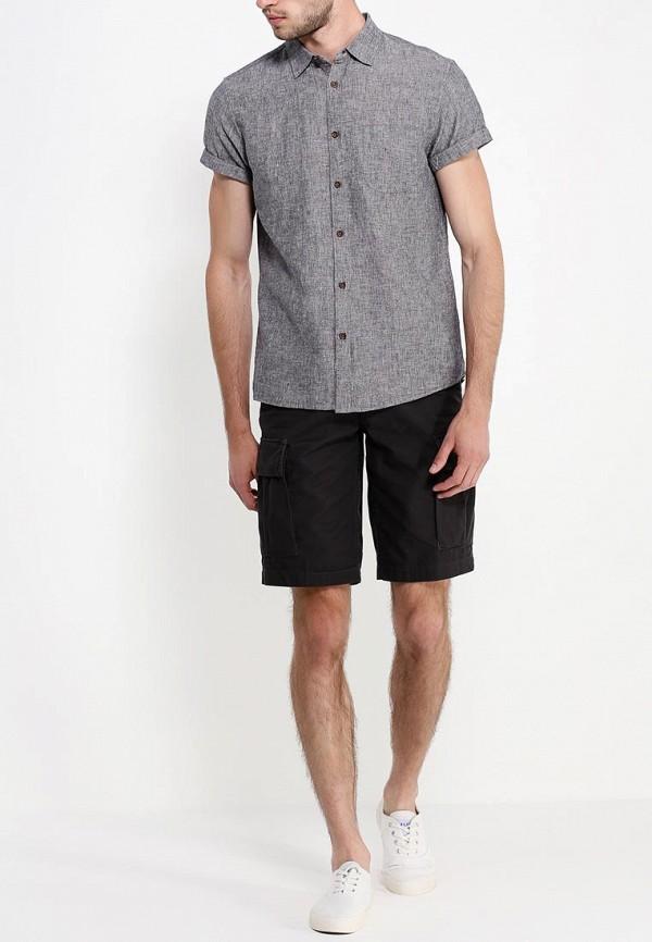 Рубашка с коротким рукавом Burton Menswear London 22D15GGRY: изображение 3