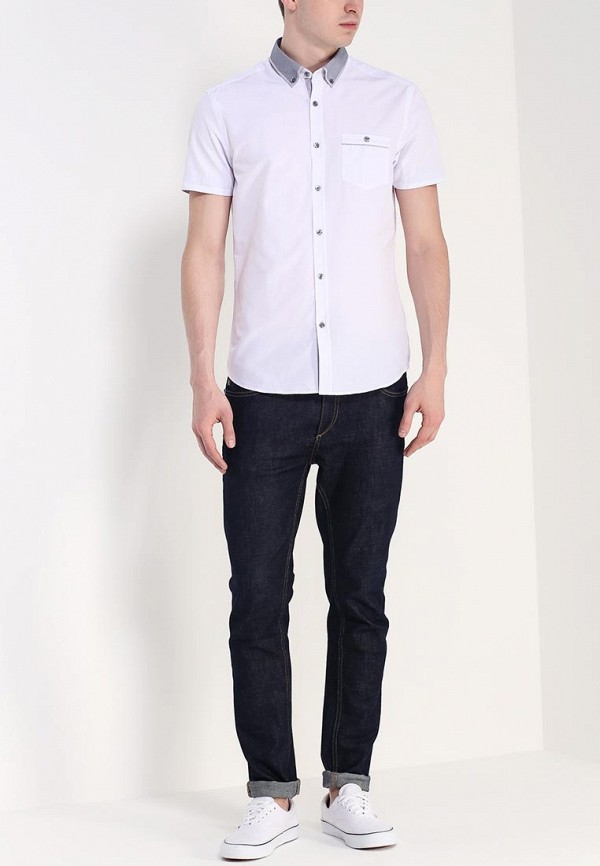 Рубашка с коротким рукавом Burton Menswear London 22D15GWHT: изображение 3