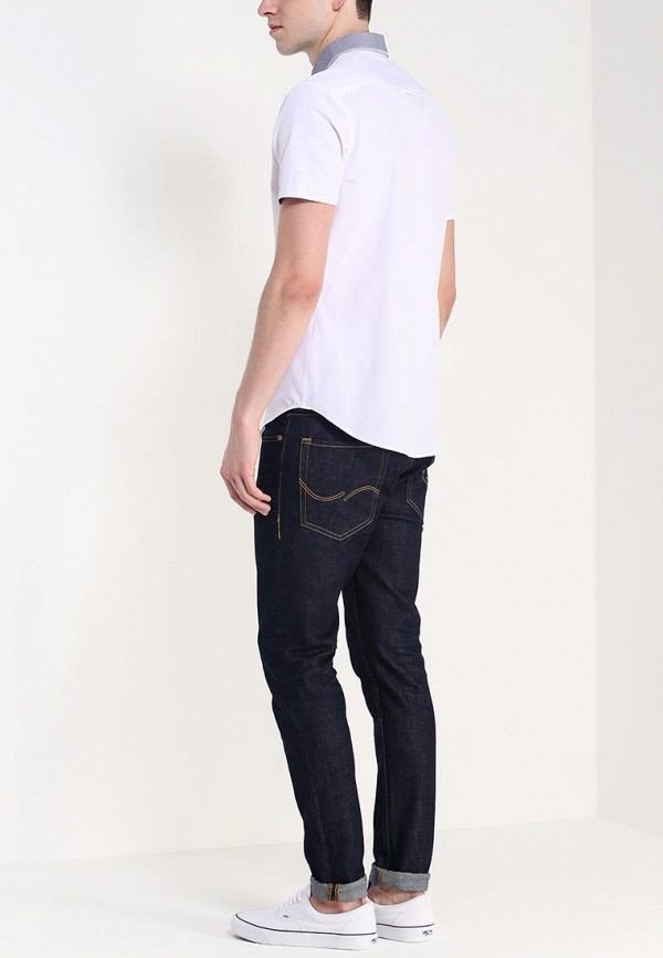 Рубашка с коротким рукавом Burton Menswear London 22D15GWHT: изображение 4