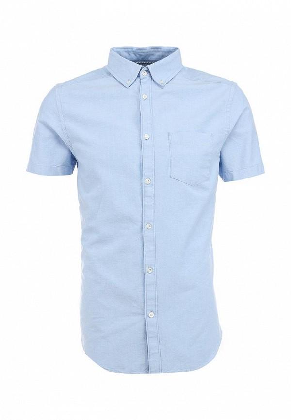 Рубашка с коротким рукавом Burton Menswear London 22D16GBLU: изображение 1