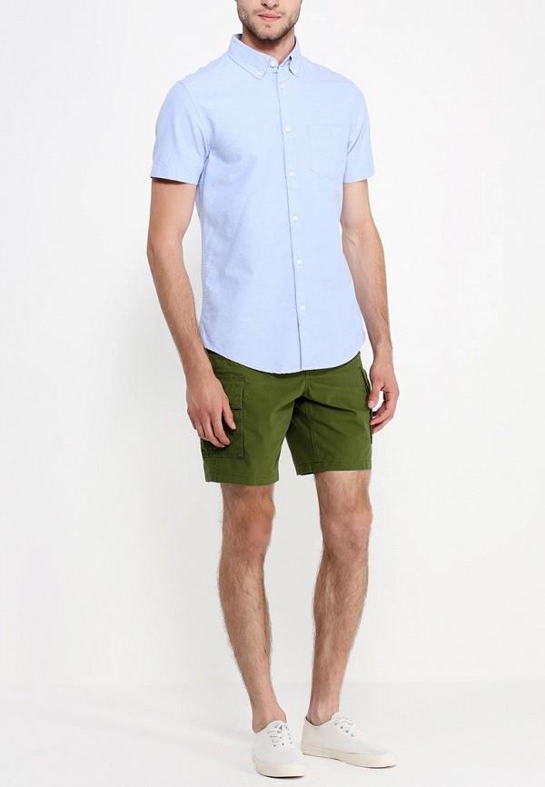 Рубашка с коротким рукавом Burton Menswear London 22D16GBLU: изображение 3