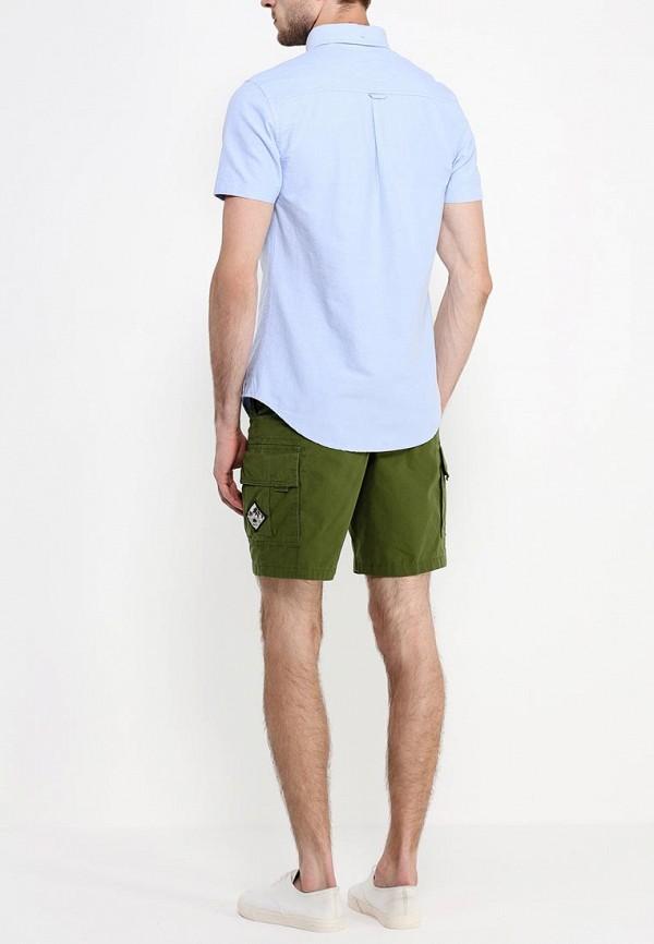 Рубашка с коротким рукавом Burton Menswear London 22D16GBLU: изображение 4