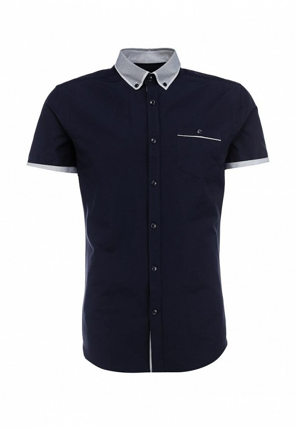 Рубашка с коротким рукавом Burton Menswear London 22D16GNVY: изображение 1