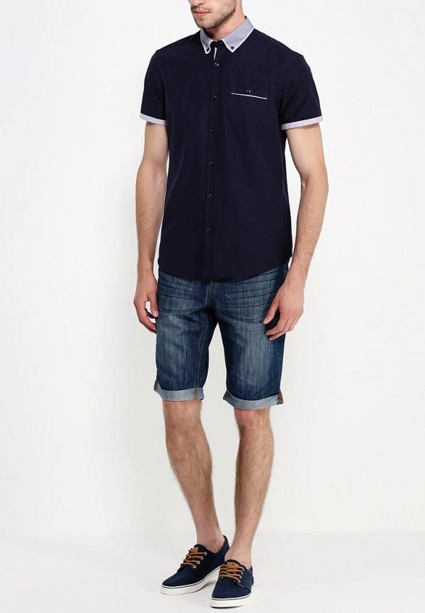 Рубашка с коротким рукавом Burton Menswear London 22D16GNVY: изображение 3