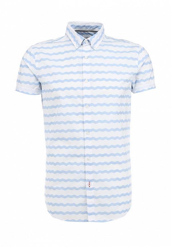 Рубашка с коротким рукавом Burton Menswear London 22P31GBLU: изображение 1