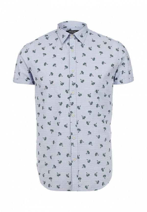 Рубашка с коротким рукавом Burton Menswear London 22P38GBLU: изображение 1
