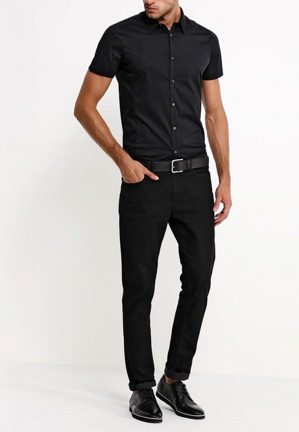 Рубашка с коротким рукавом Burton Menswear London 22D12GBLK: изображение 4