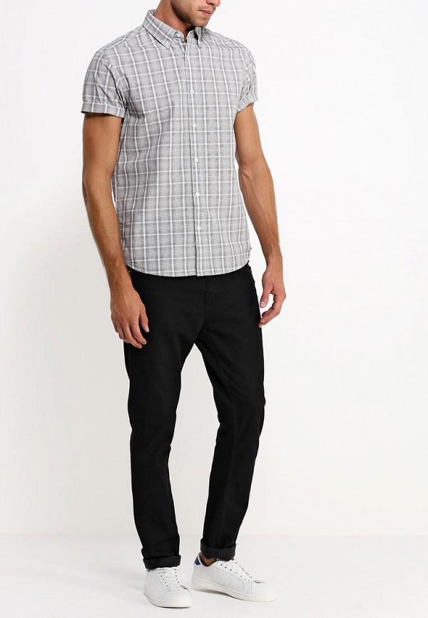 Рубашка с коротким рукавом Burton Menswear London 22G11GBLK: изображение 4