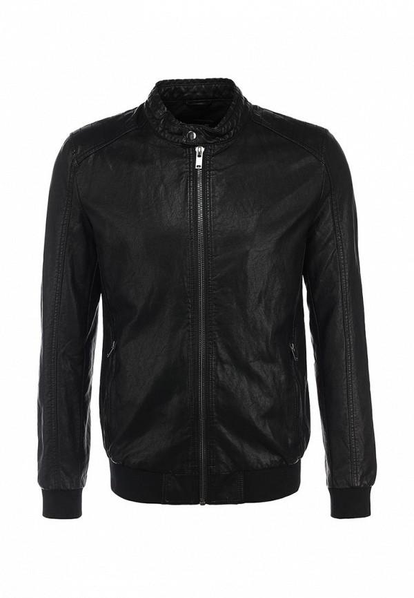 Кожаная куртка Burton Menswear London 06L05HBLK: изображение 1