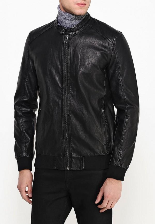 Кожаная куртка Burton Menswear London 06L05HBLK: изображение 4