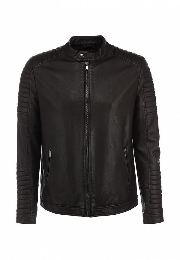 Кожаная куртка Burton Menswear London 06L08GBRN: изображение 1