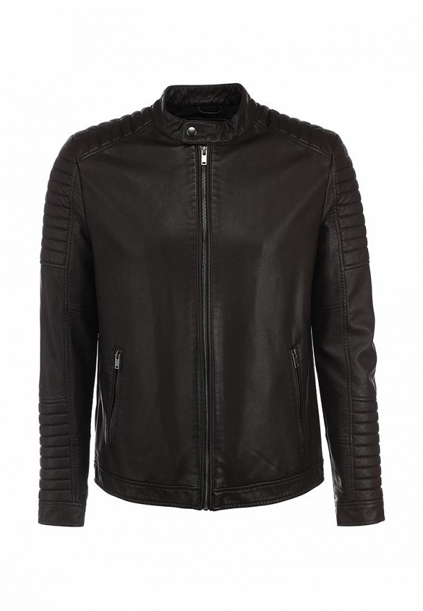 Кожаная куртка Burton Menswear London 06L08GBRN: изображение 2