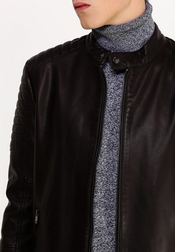Кожаная куртка Burton Menswear London 06L08GBRN: изображение 3