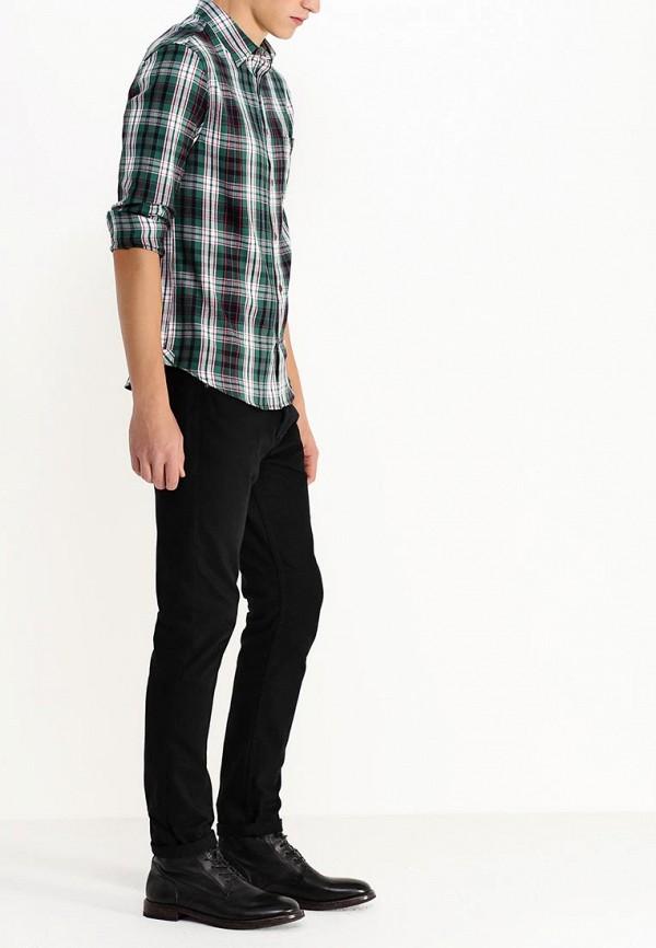 Рубашка с длинным рукавом Burton Menswear London 22R03HGRN: изображение 4