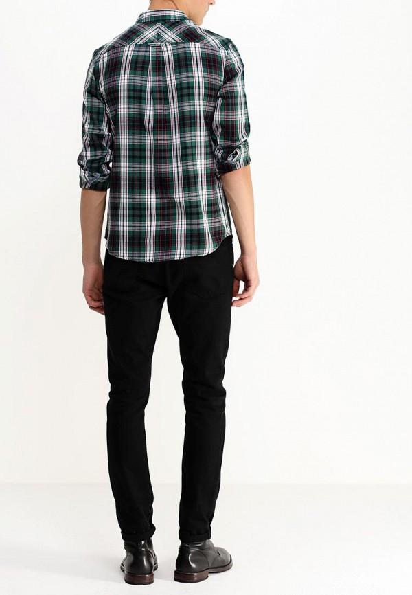 Рубашка с длинным рукавом Burton Menswear London 22R03HGRN: изображение 5