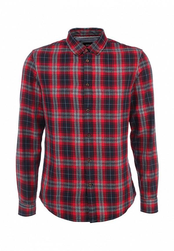 Рубашка с длинным рукавом Burton Menswear London 22R03HRED: изображение 2