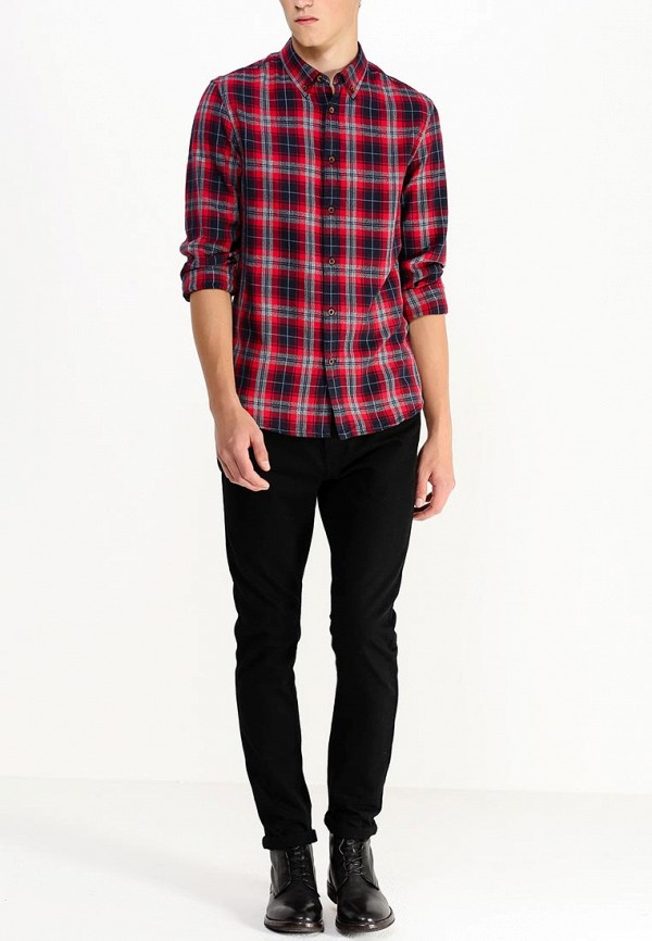 Рубашка с длинным рукавом Burton Menswear London 22R03HRED: изображение 4